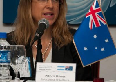 Patricia Holmes, Australian Ambassador to Argentina